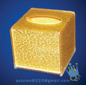China crystal napkin holder wholesale