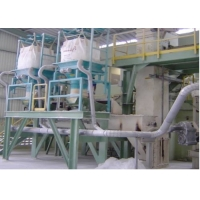 Buy cheap 12T/H SS304 Bulk Bag Emptying System Unloader With Dust Collector from wholesalers