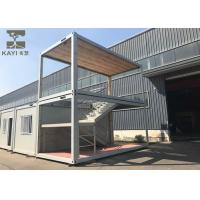 China Optional Color Prefabricated Container House Customizable With Internal Staircase wholesale