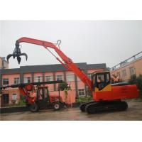 China Hydraulic Rotary Tools, Hydraulic rotating grapple crawler excavator with 58kw diesel engine power wholesale