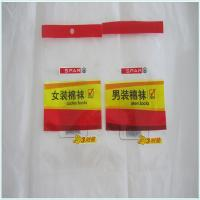 China Plastic customized logo clear Packing Pouches with Hole wholesale