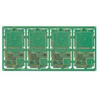 China 1.6mm FR4 Immersion Gold Single Sided 8 Layer HDI Rigid PCB / Custom PCB Board For Automobile on sale