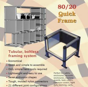 Quality Rectangle, square tube aluminium shelf brackets aluminum shelves for storage/ storage racks shelf for sale