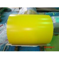 China CGCC SPCC Ral Color Card PPGI Coils , PE Resin Paint Prepainted Steel Coil wholesale