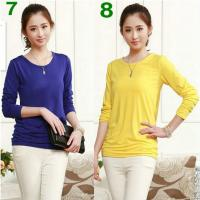 Women's Base Shirt, 12 nice Colors ! really Comfortable to wear ! retail and Wholesale !