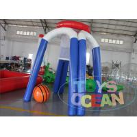 China Outdoor Inflatable Interactive Games Basketball Shooting Hoop Air Sealed For Children wholesale