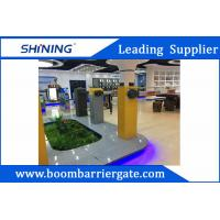 China 100W 220V Boom Barrier Gate , Car Parking Automatic Barriers With Customize Logo wholesale