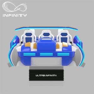 China Multi - Player 9D Virtual Reality Cinema Motion Simulator Logo Customization wholesale