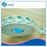 China Glossy Lamination Plastic PP Label , Self Adhesive Plastic Labels In Roll on sale