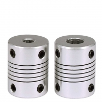 China Aluminium Alloy Wound Elastic Coupling For 3D Printing 19mm*25mm wholesale