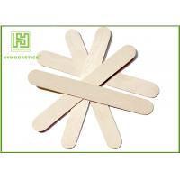 Wholesale Ice Wooden Sticks Lolly Pop Sticks 114mm Natural Wooden Sticks from china suppliers