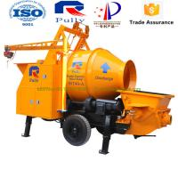 China Pully 25m3/h concrete mixer in Sri Lanka, concrete mixer truck with pump, concrete mixer pump wholesale