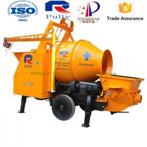 China Pully 25m3/h concrete mixer in Sri Lanka, concrete mixer truck with pump, concrete mixer pump wholesale