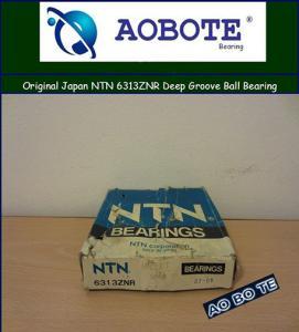 China Single Row NTN Ball Bearings 6313ZNR , Gcr15 Deep Groove Ball Bearing for Wheel wholesale