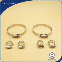China Flexible Quick Release Hose Clamps Stainless Steel For Cummins 4BT Engine wholesale