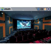 China 5.1 Audio System 4D Big Movie Theater With Red Standard Chair wholesale