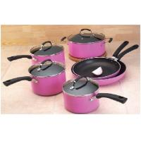 China 24 / 26 / 28 CM Stainless Steel Cooking Pans With Cast Handle wholesale