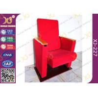 China Red Fabric Auditorium Hall Theatre Seating Living Room Furniture wholesale