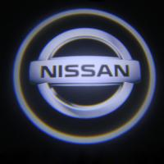 China LED Door Projector Lights 3W NISSAN logo car door light cree welcome lamp wholesale