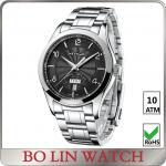 China Luxury Stainless Steel Bracelet Style Watches , Multifunction Fashion Wrist Watch wholesale