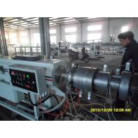 China PVC Spiral Steel Wire Reinforced Pipe Plastic Pipe Extrusion Line wholesale