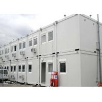 China 40 Ft Shipping Container Steel Structure Villa Office Double Storey In White wholesale