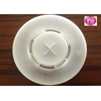 China 24oz  PS Transparent Disposable Plastic Lids 2.4G With Hole / Diameter 95mm wholesale