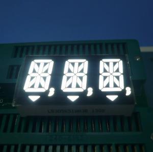 China White Triple Digit 14 Segment LED Display for Digital Indicators wholesale