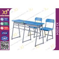 China Werzalit Moulded Board Stand Size School Desk And Chair Set For Kids From 6 To 18 wholesale