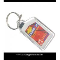 China 2015 Customized OEM Promotional Plastic Acrylic keychain/ key chain/keyring wholesale