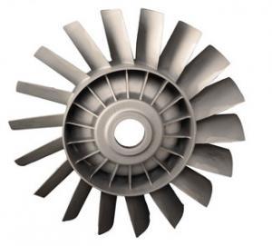 China Durable Precision Casting Parts Reliable Zinc Turbine Blade wholesale