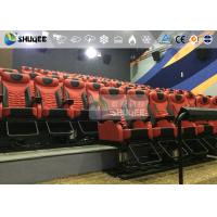 China 360 Degree Screen Large 4D Movie Theater With 30 Electronic Cinema Chair wholesale
