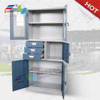China KD structure CRS material FYD-W020 office furniture steel cabinet,H1850XW900XD400mm wholesale