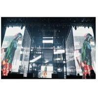 China Ultra Lightweight Glass Advertising LED Video Wall Wide Viewing Angle For Buildings wholesale