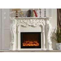 China Safe Classical Freestanding Electric Fireplace Can Remote Control wholesale