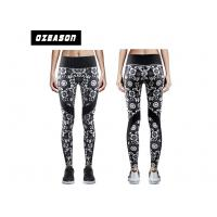 China Sublimation Printed Women'S Fitness LeggingsNo Fade Quick Drying For Adult wholesale