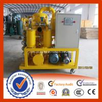 China Double Stages Transformer Oil Purifier wholesale