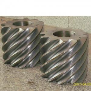 China High Precision Galvanized Worm Gear Design on sale