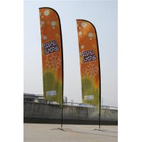 Quality Durable Double Sides Advertisement Beach Flag Banner Dye Sublimation Printing for sale