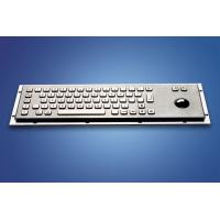 ZT599B Stainless Steel and Polymer Vandal - Proof Kiosk Metal  Keyboard