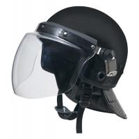 China Police anti  riot helmet for safty protection with 2-3 convex  visor and gas mask hook wholesale