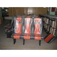 China Simple 3 Seat  Coach Bus Seats Chair Steel Frame With Seat Belt wholesale