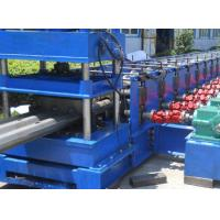 China 3 Waves Highway Profile Steel Roll Forming Machine For Expressway Guardrail Bars Use 45Kw Motor and Hydraulic Cutting wholesale