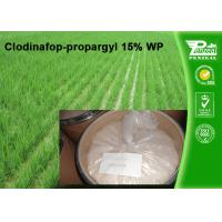 China Clodinafop-Propargyl 15% WP Selective Herbicide Control Of Perennial Grasses wholesale