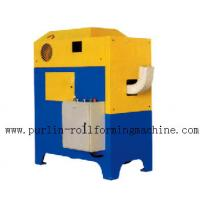 China Electric Mobile Elbow Machine / Hydraulic Rainspout Forming Machine wholesale