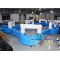 China Kids / Adults Funny Inflatable Sport Game Inflatable Snooker Football Field wholesale