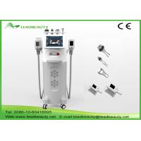 China 12 inch touch screen 5 handles cool tech slimming cool shape cellulite removal cryolipolysis machine price wholesale