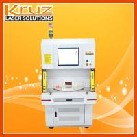 UV laser marking machine 3W applied to glasses,air cooling system,no need of maintenance;Stable performance,