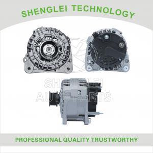 China Assembly Type Auto Alternator Generator for 0123505005 Audi A3 A4 / VW Golf 1.6 1.8 on sale