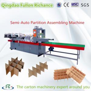 China Semi Auto & Automatic Paper Board Cardboard Partition Assembling Machine wholesale